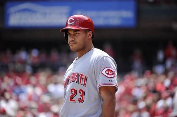 Donald Lutz wurde am Montag von den Cincinnati Reds zurück zum Triple-A-Team beordert. (Foto: Cincinnati Reds)