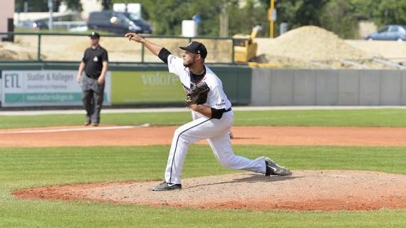 Jonathan Eisenhuth ging in Spiel fünf über die volle Distanz (Foto: Eisenhuth, G.)