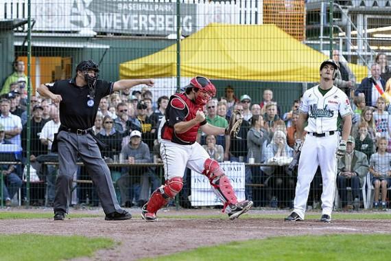 Der Ballpark am Weyersberg in Solingen ist am Sonntag die Bühne für das All-Star Game (Foto: Eisenhuth, G.)