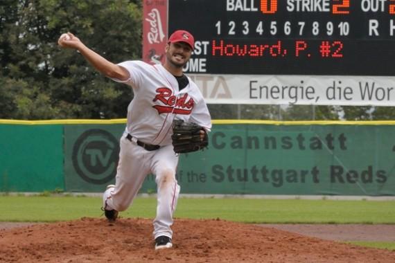 Nick Renault ist in dieser Woche Gast im Podcast zur 1. Baseball-Bundesliga (Foto: Drobny, I.)