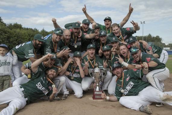 Die Solingen Alligators sind neuer deutscher Meister in der 1. Baseball-Bundesliga (Foto: Hofmann, M.)