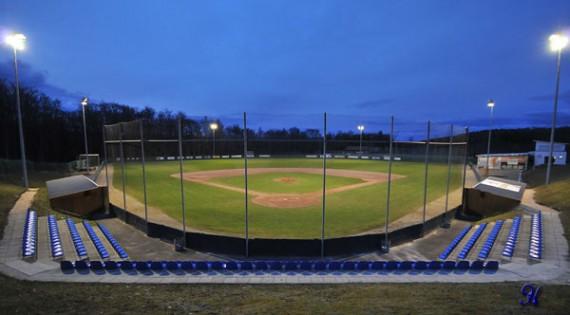 Der Heideköpfe-Ballpark ist Schauplatz für die Spiele drei und vier der Finalserie (Foto: Heidenheim Heideköpfe)