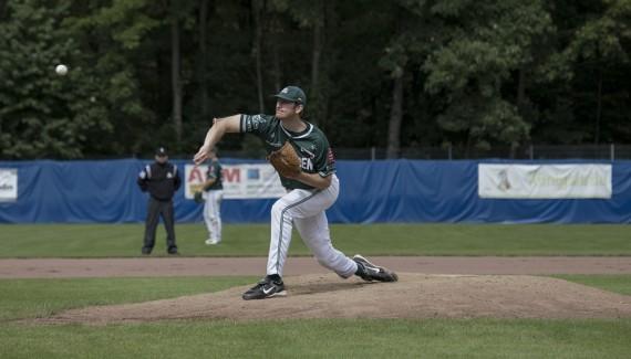 Chris Mezger ist der Best Pitcher 2014 im Norden der 1. Baseball-Bundesliga (Foto: Hofmann, M.)