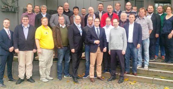 Das neue DBV-Präsidium zusammen mit den Vertretern der Landesverbände