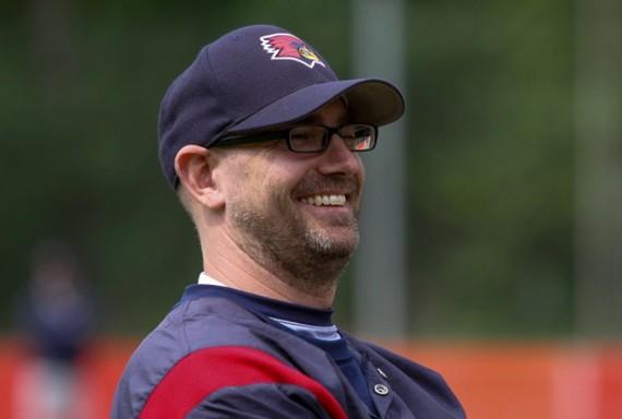 Georg Apfelbaum ist in dieser Woche zu Gast bei Bases Loaded dem Podast zur 1. Baseball-Bundesliga (Foto: Schicho, R.)