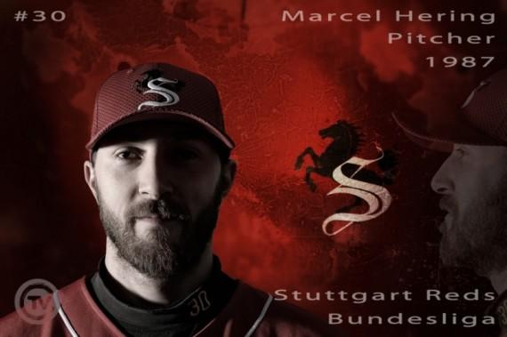 Marcel Hering von den Stuttgart Reds ist der Spieler der Woche (Foto: Iris Drobny, www.drobny.photography)