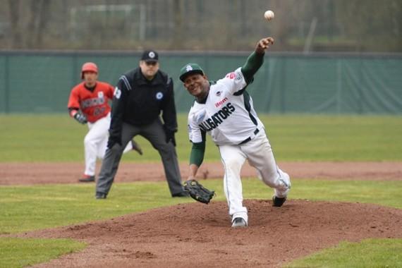 Enorbel Marquez-Ramirez ist zurück in der 1. Baseball-Bundesliga (Foto: Gregor Eisenhuth, www.eisenhuth-photographie.de)
