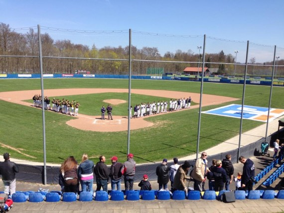Bei bestem Baseballwetter feierten die Heideöpfe am Sonntag einen 8:0-Shutout gegen die Disciples (Foto: Heidenheim Heideköpfe)