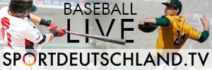 Baseball Livestreams auf Sportdeutschland.tv