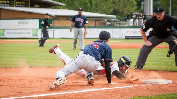 Nur bei einigen wenigen knappen Spielzügen kam etwas Spannung auf (Foto: Walter Keller, www.catchthefever.de)