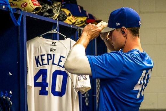 Max Kepler gehört zu den Leistungsträgern beim Double-A-Team der Minnesota Twins (Foto: Brace Hemmelgarn, Minnesota Twins)