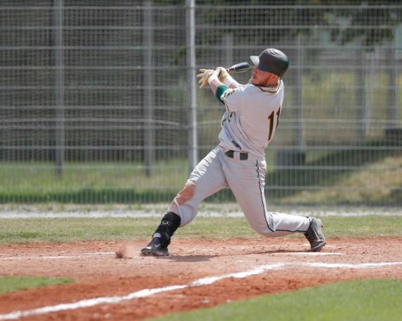 Die Mainz Athletics zeigten sich schlagfreudig in Spiel 1 (Foto: Alexander Freiesleben, www.af-photo.de)