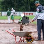 Rainouts in Bonn und Solingen / Regensburg und Heidenheim im Halbfinale