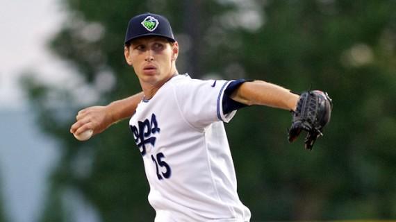 Markus Solbach glänzt weiterhin in der Midwest League (Foto: Craig Mitchelldyer/Hillsboro Hops)