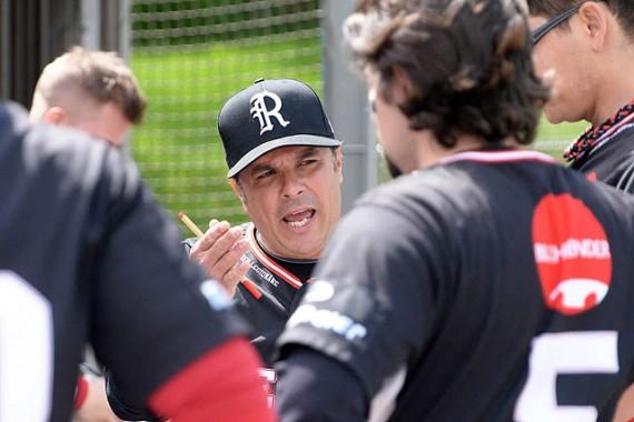 Ivan Rodriguez steht im ersten Jahr in der 1. Baseball-Bundesliga gleich im Finale (Foto: Gregor Eisenhuth, www.eisenhuth-photographie.de)