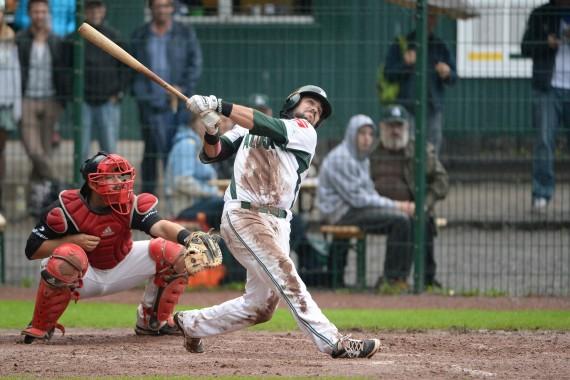 Tanner Leighton ist  im zweiten Jahr in Folge Best Batter Nord (Foto Gregor Eisenhuth, www.eisenhuth-photographie.de)