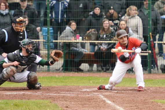 Am ersten April-Wochenende beginnt die Saison 2016 in der 1. Baseball-Bundesliga (Foto: Gregor Eisenhuth, www.eisenhuth-photographie.de)