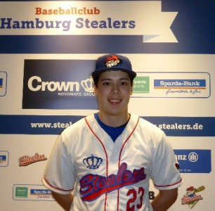 Wolfgang Reitter wurde als Neuzugang für die Saison 2016 präsentiert (Foto: Hamburg Stealers)