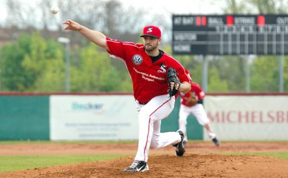 Eric Massingham bleibt in der 1. Baseball-Bundesliga (Foto: Tanja Szidat)