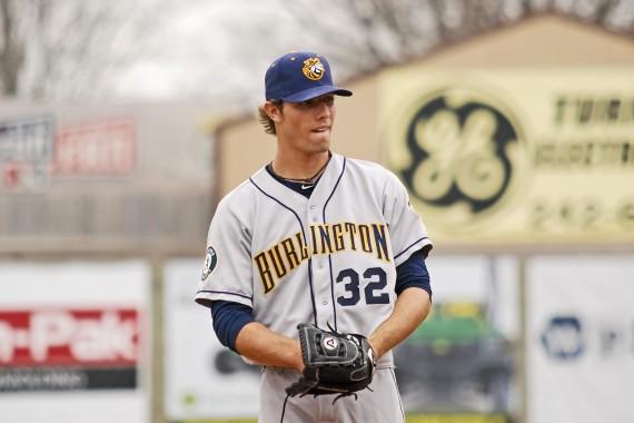 Blake Hassebrock spielte zwischen 2010 und 2014 für die Oakland Athletics in den Minors (Foto: Paul R. Gierhart)