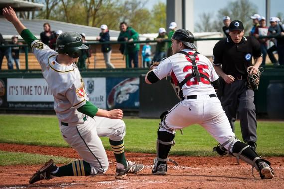 Am Samstag revanchierten sich die Mainz Athletics mit einem Shutout (Foto: Walter Keller, www.catchthefever.de)