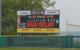 Die Spiele zwischen Stuttgart und Tübingen standen bisher unter keinem guten Stern. Am Mittwoch wird im DB-Ballpark ausgetragen (Foto: Iris Drobny, www.drobny.photography)