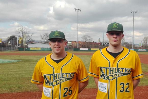 Shane Salley und James Watts aus Schweden nach Mainz
