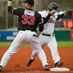 Athletics und Buchbinder Legionäre dominieren am Freitag