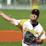 Best Pitcher Süd 2012: Nick Renault (Haar Disciples)