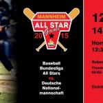 All-Star Game 2015 am Sonntag in Mannheim