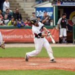 Chris Howards Walk-Off-Single bringt Regensburg mit 2-0 in Front