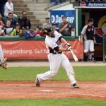 Chris Howards Walk-Off-Single bringt Regensburg mit 2-0 in Front