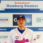 Hamburg Stealers verlängern mit Catcher Brett Rosen