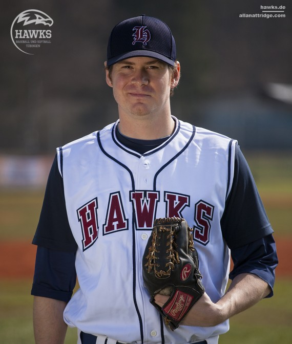 Alex Tufts ist neuer Starting Pitcher bei den Hawks (Foto: Allan Attridge)