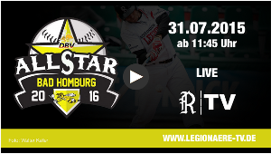 Livestream von Home Run Derby und fielders-choice.de All-Star Game in Bad Homburg