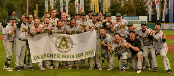 Deutscher Meister Mainz Athletics 2016