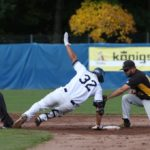 Heidenheim Heideköpfe und Bonn Capitals beim Baseball-Europacup