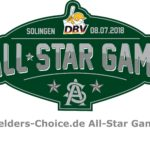 Kader für Fielders-Choice.de All-Star Game am 8. Juli in Solingen veröffentlicht
