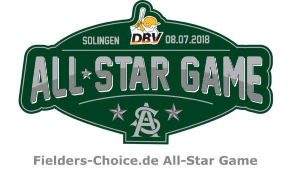 Fielders-Choice.de All-Star Game in Solingen am Sonntag