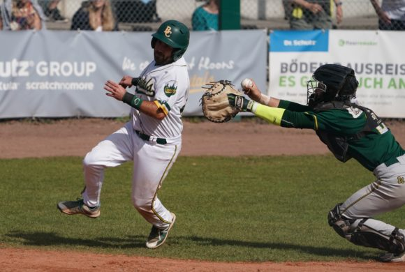 Best-of-5 in Play-offs: Spielplan in Bens Baseball-Bundesliga angepasst